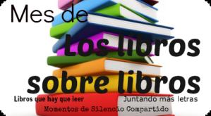 Banner Mes de Los libros sobre libros